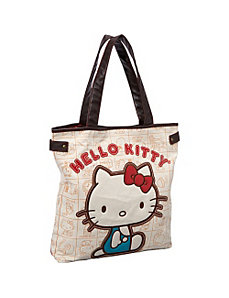 Hello Kitty Vintage Apples Tote by Loungefly