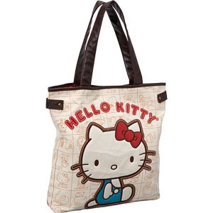 Hello Kitty Vintage Apples Tote