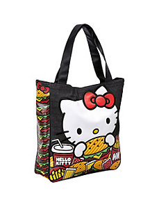 Hello Kitty Burger Tote by Loungefly