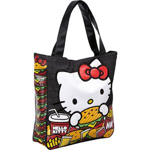 Hello Kitty Burger Tote