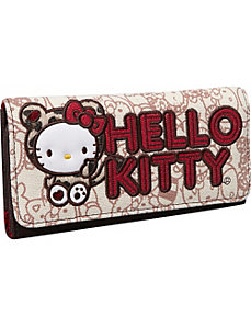 Hello Kitty Leopard Hug Me Wallet by Loungefly