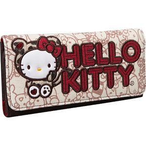 Hello Kitty Leopard Hug Me Wallet