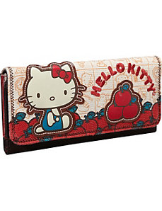 Hello Kitty Vintage Apples Wallet by Loungefly