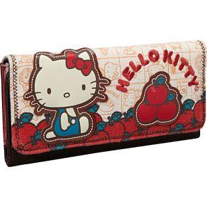 Hello Kitty Vintage Apples Wallet