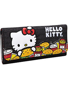 Hello Kitty Burger Wallet by Loungefly