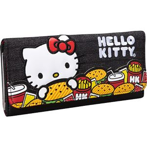 Hello Kitty Burger Wallet
