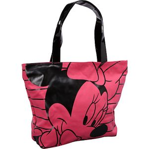 Minnie Mouse Pink & Black Tote