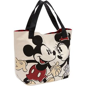 Mickey & Minnie Vintage Couple Tote