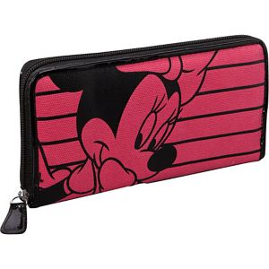 Minnie Mouse Pink & Black Wallet