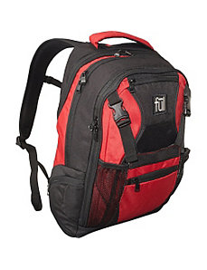 Red Laptop Backpack by ful