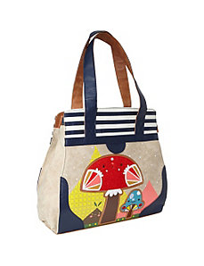 Crowded Teeth Mushroom Shoulder Bag by Loungefly