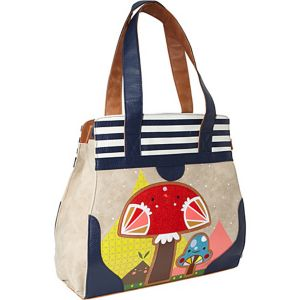 Crowded Teeth Mushroom Shoulder Bag