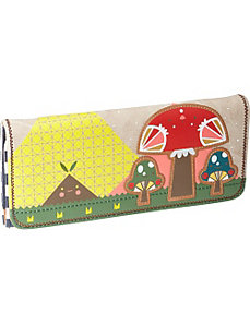 Crowded Teeth Mushroom Wallet by Loungefly
