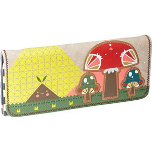 Crowded Teeth Mushroom Wallet
