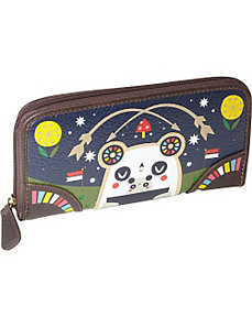 Crowded Teeth Panda-Roo Wallet by Loungefly