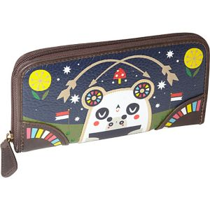 Crowded Teeth Panda-Roo Wallet
