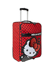 Hello Kitty Big Bow Rolling Luggage by Loungefly
