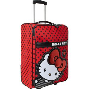 Hello Kitty Big Bow Rolling Luggage