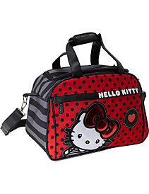 Hello Kitty Big Bow Carry-On Duffle by Loungefly