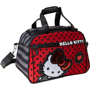 Hello Kitty Big Bow Carry-On Duffle