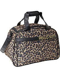 Hello Kitty Leopard Carry-On Duffle by Loungefly