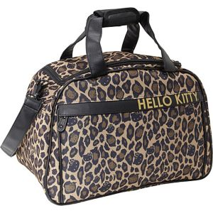 Hello Kitty Leopard Carry-On Duffle