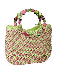 Woven Toyo with Beaded Handles by Cappelli