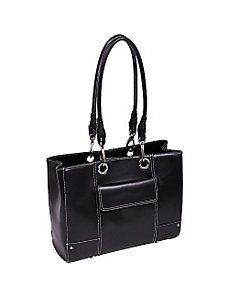 Serena Faux Leather Ladies' Business Tote by McKlein USA