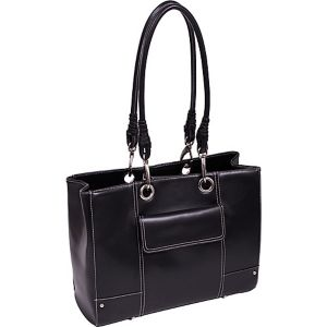 Serena Faux Leather Ladies' Business Tote