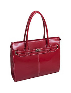 Francesca Faux Leather Ladies' Laptop Tote by McKlein USA