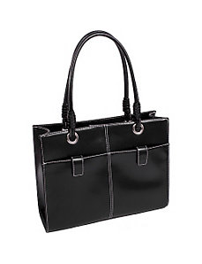 Angelina Faux Leather Ladies' Business Tote by McKlein USA