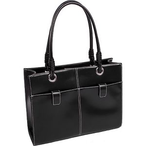 Angelina Faux Leather Ladies' Business Tote