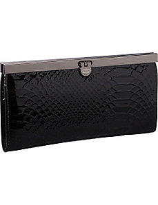 Snake Top Frame Wallet by R & R Collections