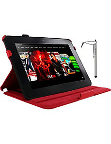Slim-Fit Case w/ Stylus for Kindle Fire HD 8.9