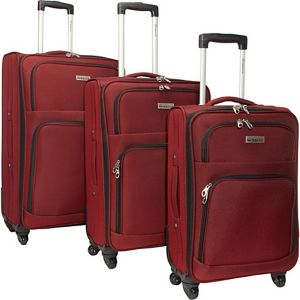 Eco Friendly 3 Piece Luggage Spinner Set