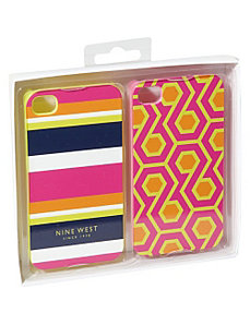 Can't Stop Shopper iPhone 4 Cases 2pk by Nine West Handbags