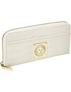 Color Rush Zip Around Wallet by AK Anne Klein