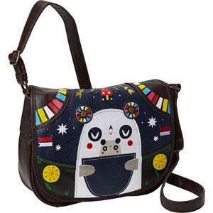 Crowded Teeth Panda-Roo Cross Body Bag