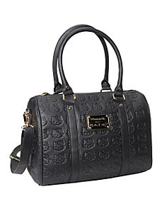 Hello Kitty Embossed Bowler Satchel by Loungefly