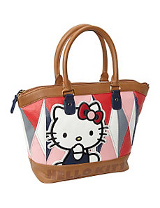 Hello Kitty Geometric Satchel by Loungefly