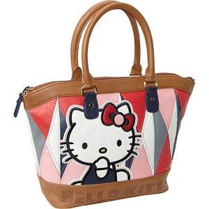 Hello Kitty Geometric Satchel