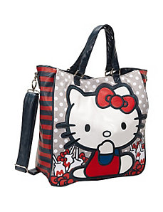 Hello Kitty Milk Bottles & Bows Tote by Loungefly
