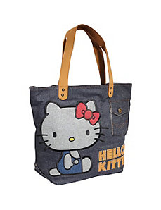 Hello Kitty Vintage Denim Tote by Loungefly