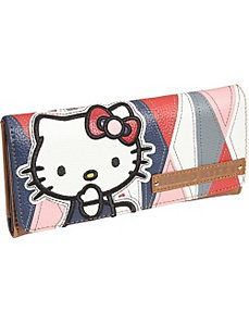 Hello Kitty Geometric Wallet by Loungefly