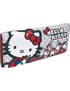 Hello Kitty Milk Bottles & Bows Wallet by Loungefly