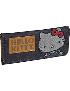 Hello Kitty Vintage Denim Wallet by Loungefly