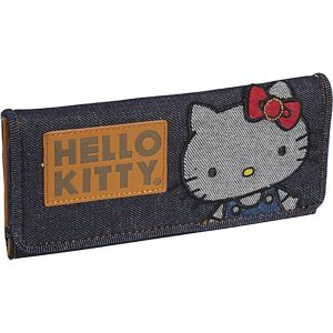 Hello Kitty Vintage Denim Wallet