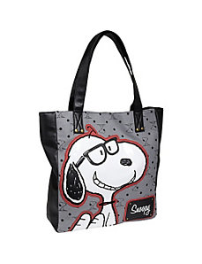 Peanuts Preppy Snoopy Tote by Loungefly