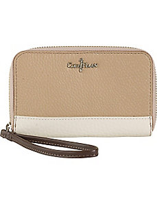 Crosby Colorblock Electronic Zip Wristlet by Cole Haan