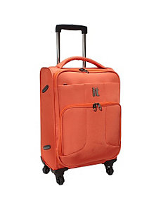 "Ultra Lightweight Polyester 4-Wheeled 18.5"" Carry- by IT Luggage"